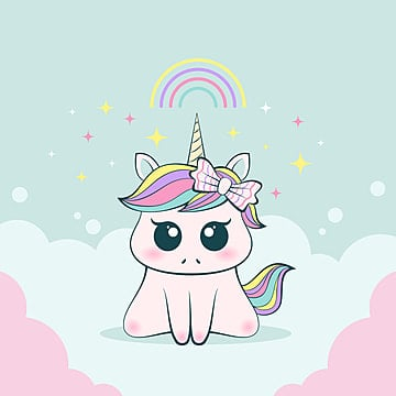 cute baby unicorn innocent and adorable expression png 247735
