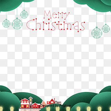 귀요미 그린 메리 크리스마스 프레임 배경 성탄, 배경, 크리스마스, 녹색 PNG 및 PSD