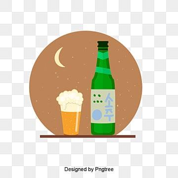 почерк и алкоголь перераспределены по ночам и алкоголю, кружка, пивоваренный завод, бутылка PNG и PSD