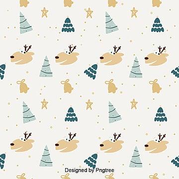 귀요미 풋풋 크리스마스 평판 배경, 배경, 포장지 배경, 크리스마스 배경 PNG 및 PSD
