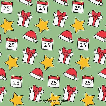 카피 크리스마스 포장지 배경, 포장지, 만화, 크리스마스 원소 PNG 및 벡터