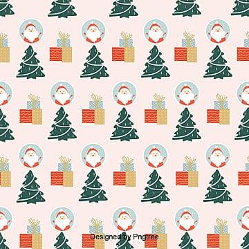 귀요미 크리스마스 포장 평방 배경, 크리스마스 장식품, 크리스마스 트리, 크리스마스 PNG 및 PSD