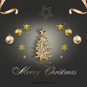 exquisite black gold christmas theme background, Background, Christmas Background, Texture PNG and PSD
