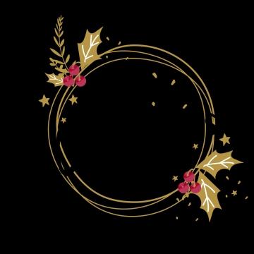 금색 심플한 크리스마스 크리스마스 테두리 성탄, 국경 틀, 크리스마스 테두리, 메리 크리스마스 PNG 및 PSD