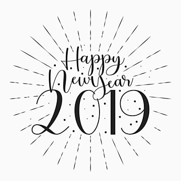 happy new year 2019 banner background 2019 happy holiday png and vector
