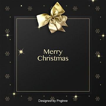 고퀄리티 흑금 리본 크리스마스, 고퀄리티, 흑백 금, 리본 PNG 및 PSD