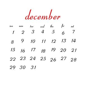 Psd December 2019 Calendar December 2019 Calendar PNG Images | Vector and PSD Files | Free