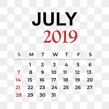 2019 Calendar Png, Vector, PSD, and Clipart With Transparent