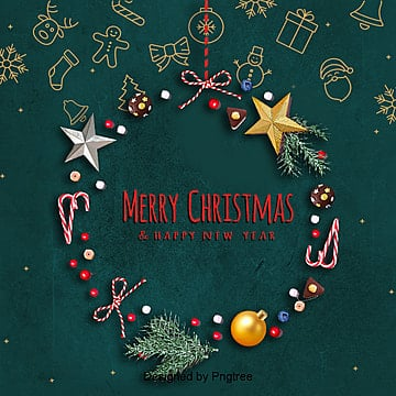 green retro merry christmas card background, Green, Background, Retro PNG and PSD