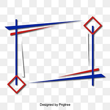 สีชมพูสีน้ำเงินเส้นขอบกล่องข้อความสีน้ำเงิน  สีขาว  สีแดง รูปภาพ PNG และเวกเตอร์