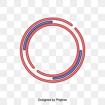 กรอบวงกลมข้อความ  วงกลม  สีแดงสีฟ้า รูปภาพ PNG และเวกเตอร์