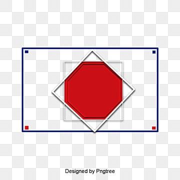 กรอบสีขาว  สีฟ้า  สีแดง PNG และ PSD