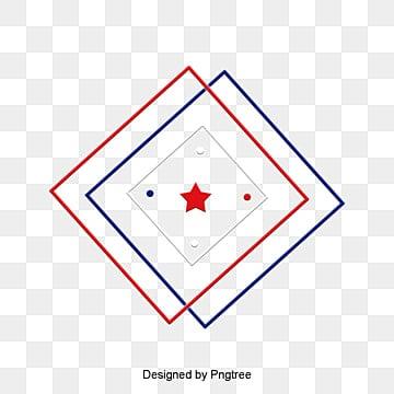กรอบรูปกรอบรูป  กรอบรูปลายสลับสีขาว  สีฟ้า PNG และ PSD