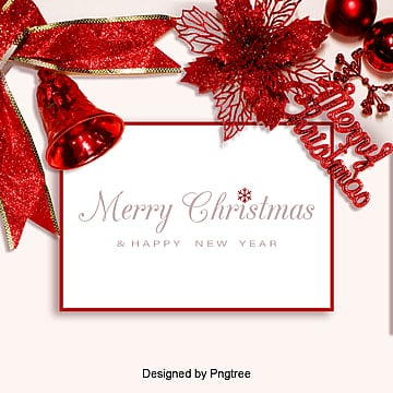 red simple christmas promotional poster background, Sns Background, Simple, Background PNG and PSD