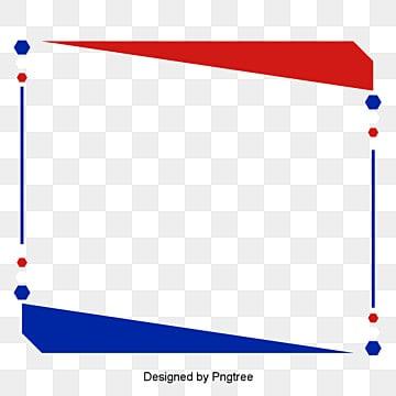 เส้นขอบธงสีแดง   สีขาวและสีฟ้าธงประเทศ  กรอบขอบ  สีแดง รูปภาพ PNG และเวกเตอร์