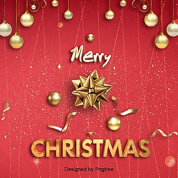 red retro christmas poster background, Sns Background, Hand-painted Cute Christmas Border, Velours PNG and PSD
