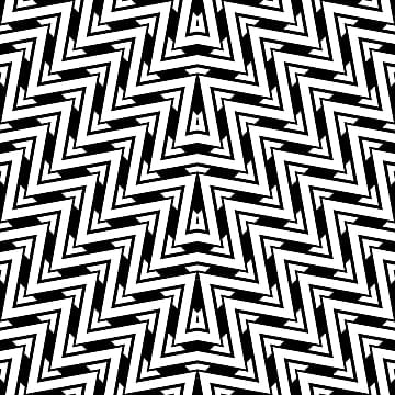 chevron geometric pattern in black and white colors  abstract seamless shapes stripes texture line vector illustration modern style, Black, Pattern, Background PNG and Vector
