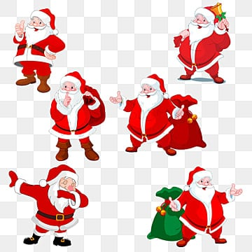 Christmas Dancing Santa.Dancing Santa Claus Png Images Vector And Psd Files Free