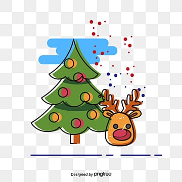 face cards christmas tree, Reindeer, Christmas, Santa Claus PNG and Vector