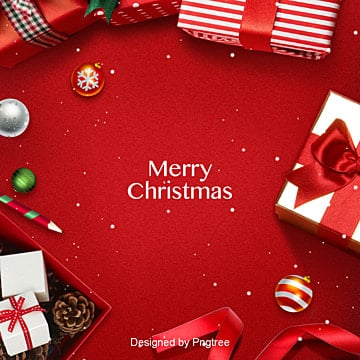 red retro christmas gift festive background, Sns Background, Christmas Fruit, Velours PNG and PSD