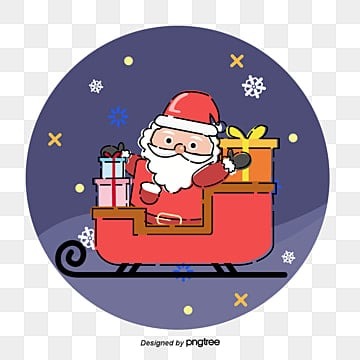 santa reducing circle gifts, Santa Claus., Gifts, The Circle PNG and Vector