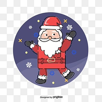 santa claus circle, Santa Claus., The Ribbon, The Circle PNG and Vector