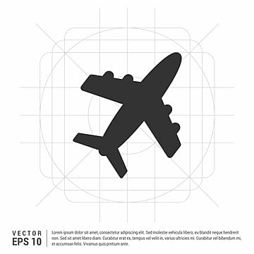 airplane icon, Airplane, Plane, Cargo PNG and PSD