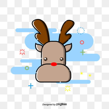reindeer   christmas, Christmas, Reindeer., Color Brown PNG and PSD