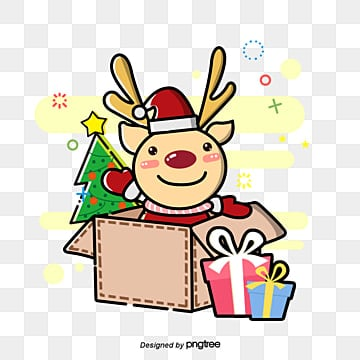 christmas reindeer, The Reindeer., Gifts, Christmas PNG and PSD