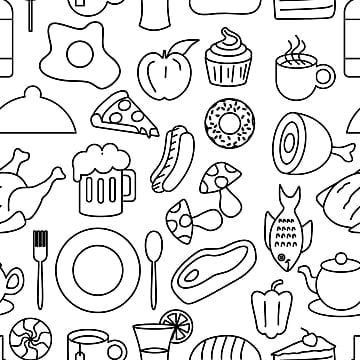 Creative Picture Oktoberfest Pattern Black And White Stereoscopic Cartoon Image Png Transparent Clipart Image And Psd File For Free Download