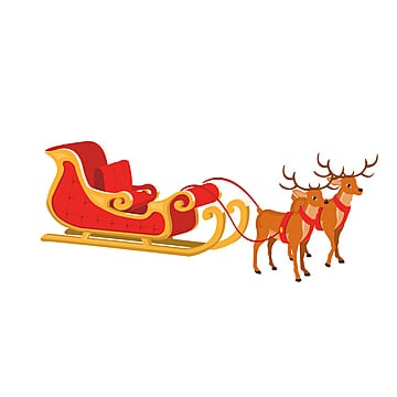 Free Sleigh Clip Art with No Background - ClipartKey