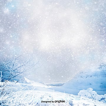the synthesis of the romantic dream snow, In The Winter, Water, Romantic PNG and PSD