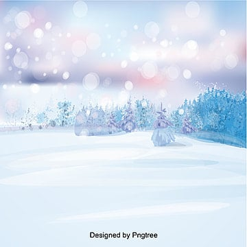 the clear blue winter snow dream, In The Winter, Dream, Snow PNG and Vector