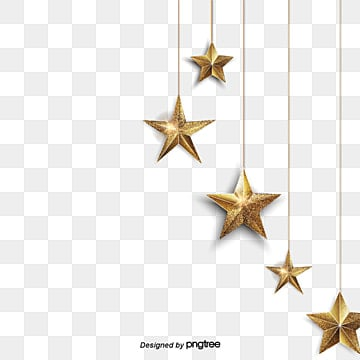golden star dangle blue walls  decorate the christmas, Meteor, Christmas Star, Decorate The Christmas PNG and Vector