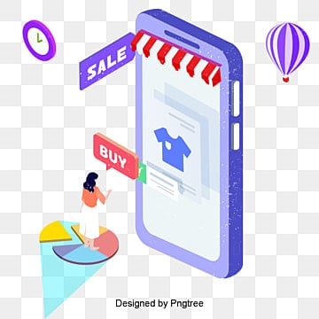 the online platform of online shopping is a woman xie and bar code scanning, Personal, Learning, The School Of Technology PNG and PSD