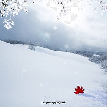 the synthesis of the winter snow, In The Winter, Snow, Ling PNG and PSD