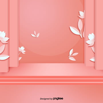 three dimensional 전아 and red background, Red, Background, Lotus PNG and PSD