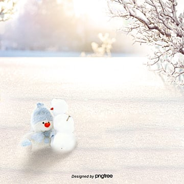 a background image of a snowman in winter, In The Winter, Water, Romantic PNG and PSD