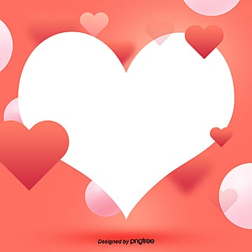 the red heart valentines day background, The Color 2019, Red, Red Serial PNG and PSD