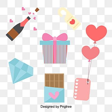 valentines day love pink cute elements, Lovely, Chocolates, Valentines Day PNG and Vector