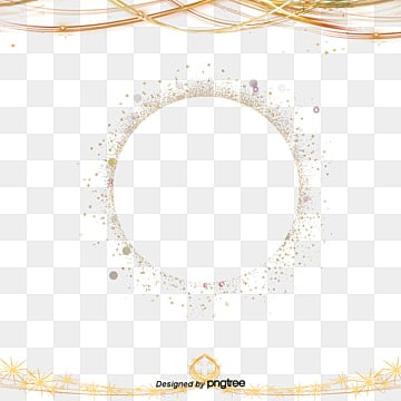 Fashion Golden Border Elements, Originality, Fashion, Line PNG and PSD