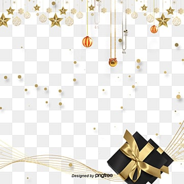 Fashion Golden Star Gift Box Line Elements, Originality, Fashion, Stars PNG and PSD