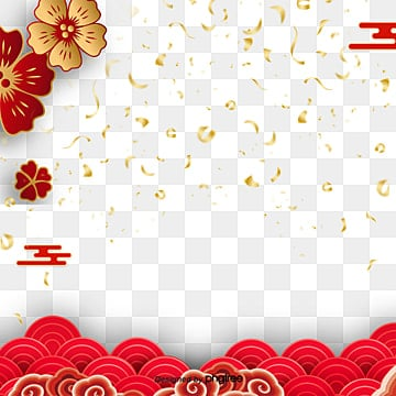 creative red plum blossom spring festival elements, Atmosphere, Spring Festival, Plum Blossom PNG and PSD