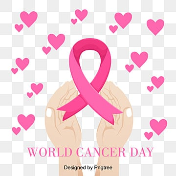 pink love care two hands world cancer day vector material, World, Healthy, Care For PNG and Vector