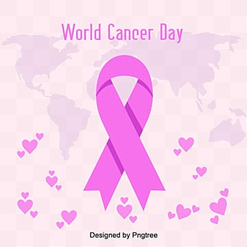 Purple Loving World Cancer Day Loving Healthy Medical Ribbon, World, Silk Ribbon, Healthcare PNG and Vector
