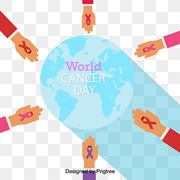 world cancer day with the vector element of care medical rescue, World, Healthcare, Healthy PNG and Vector