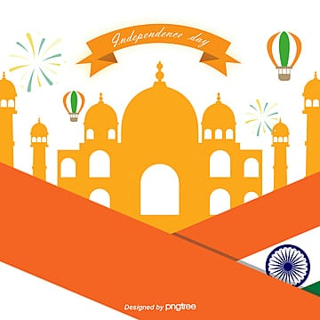 orange indian independence day celebration flag background, India, National Flag, Architecture PNG and PSD
