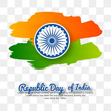 illustration of happy indian republic day celebration poster or banner background, Republic, India, Indian PNG and Vector