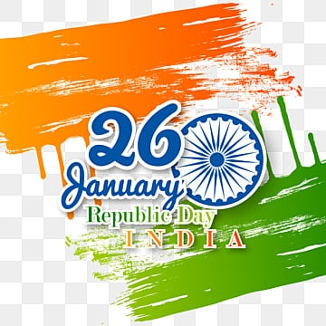 illustration of india republic day for 26 january, Republic Day, India, Celebration Background PNG and Vector