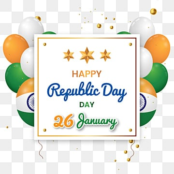indian republic day banner poster illustration, Republic, India, Independence PNG and Vector